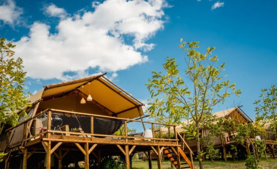 Pian di Boccio via Lodge Holidays - Glamping.nl