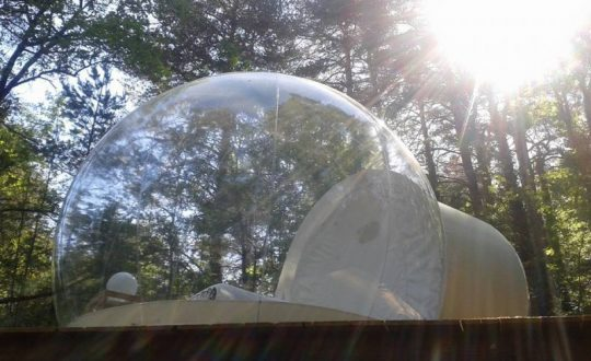La Bulle des Nymphes - Glamping.nl