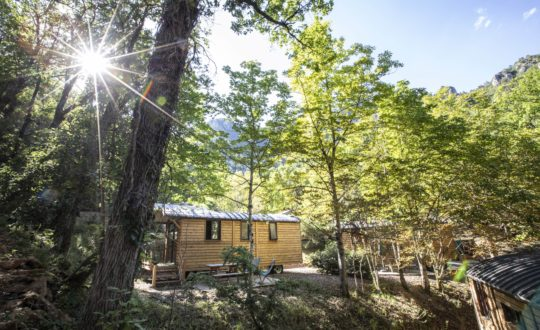 Huttopia Gorges du Tarn - Glamping.nl