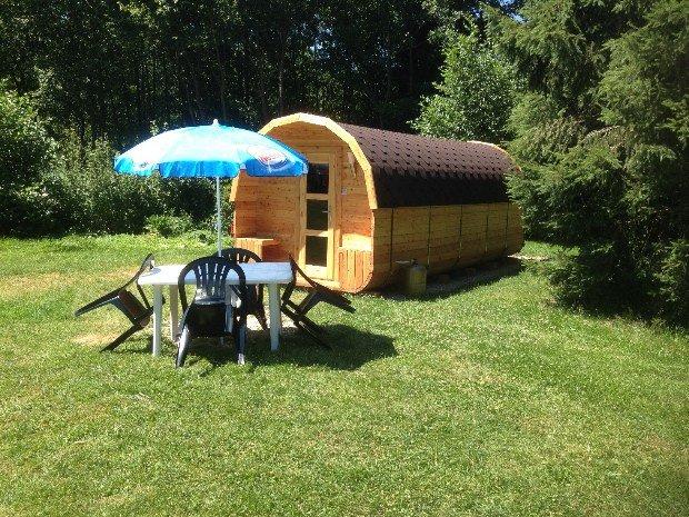 Foto van Lodge exterieur bij Au Mica in Frankrijk