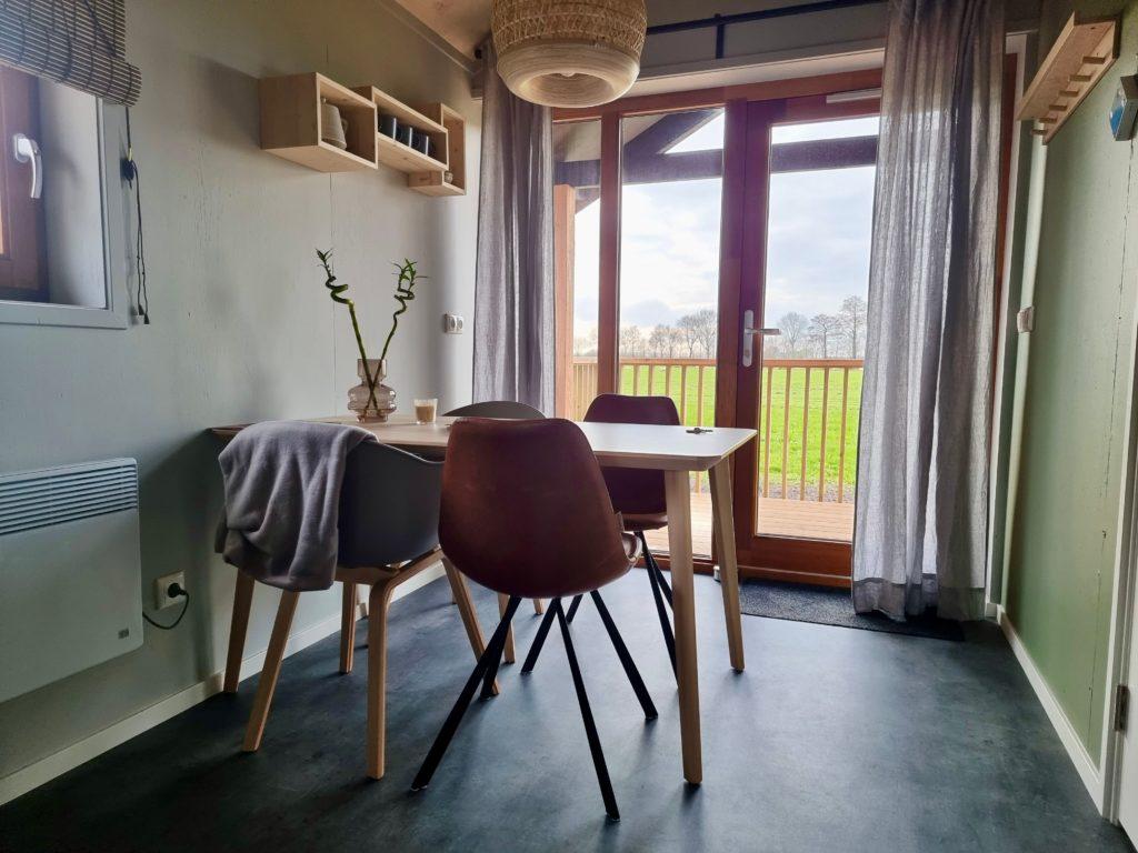 Acker Lodges woonkamer