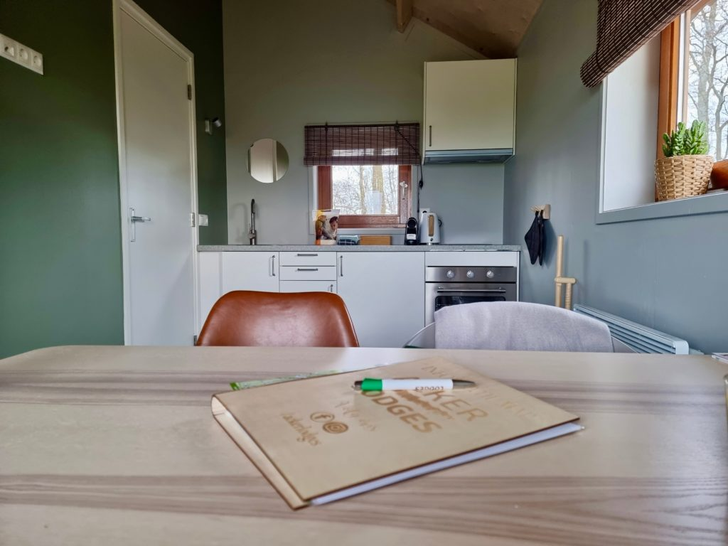 Acker Lodges keuken