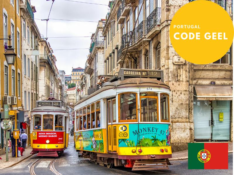 Code geel in Portugal