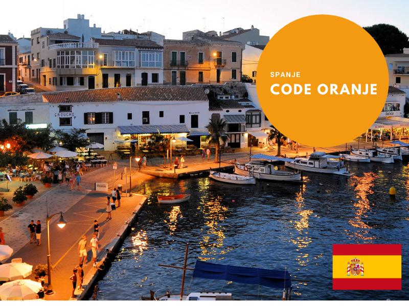 Spanje code oranje