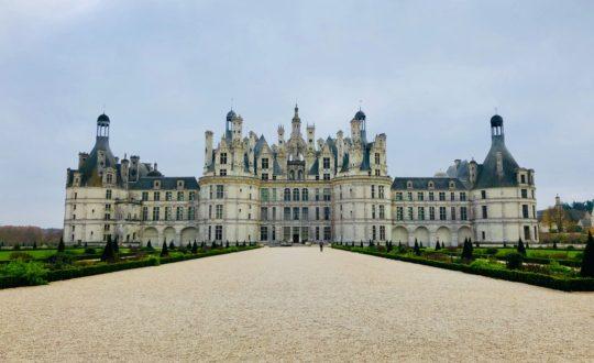 Glampen tussen de kastelen van de Loire