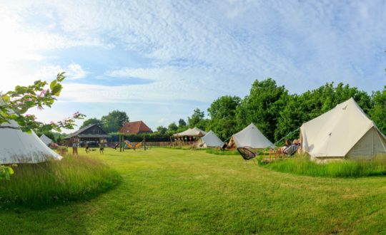 5x glamping via Campspace