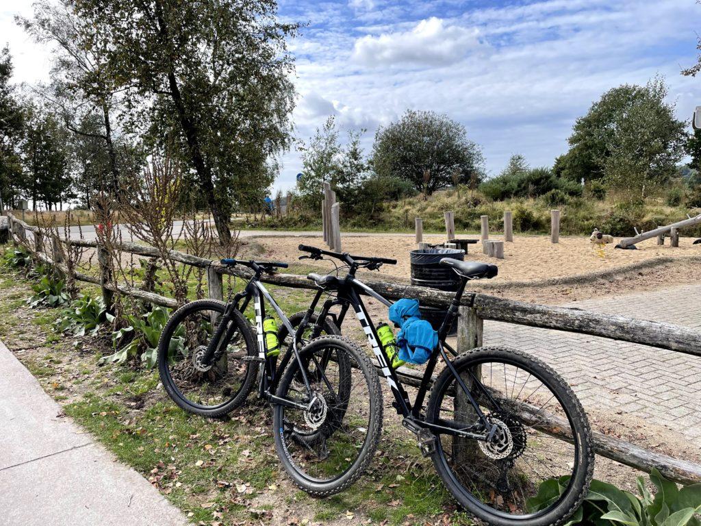 Mountainbiken Posbank vanaf Buitenplaats Beekhuizen
